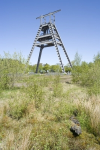 Remains of Barony colliery, Ayrshire.